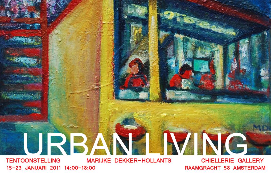 Expositie - Urban Living (15-23 januari 2011)